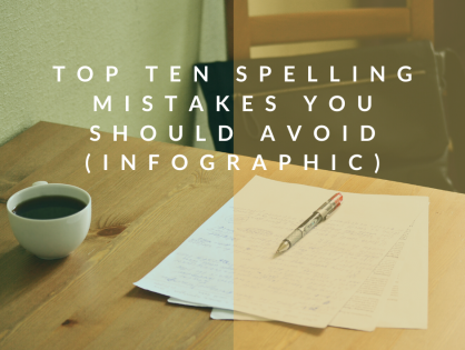 Top Ten Spelling Mistakes You Should Avoid (Infographic)