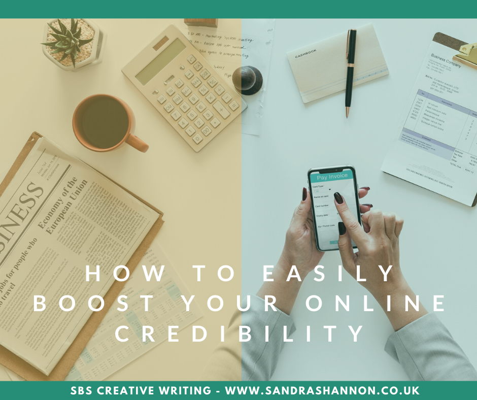 How to easily boost your online credibility
