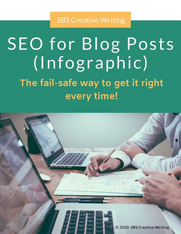 SEO for Blog Posts Infographic