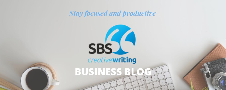 SBS Creative Writing business blog