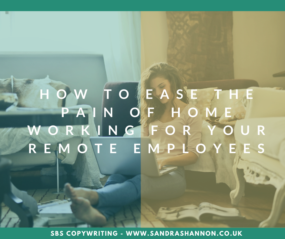 How to ease the pain of remote working
