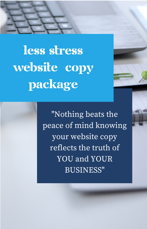 Less Stress Website Copy Package